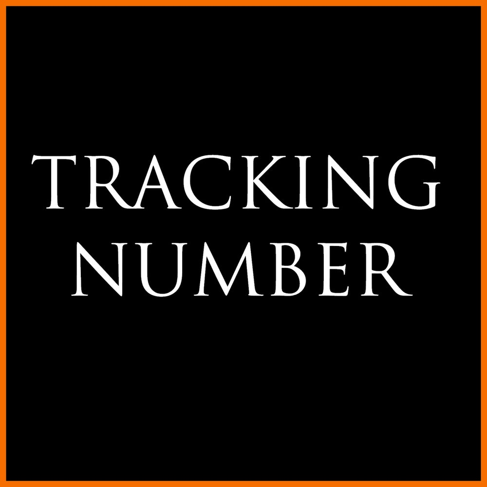 Image of Tracking Number (for orders outside France)