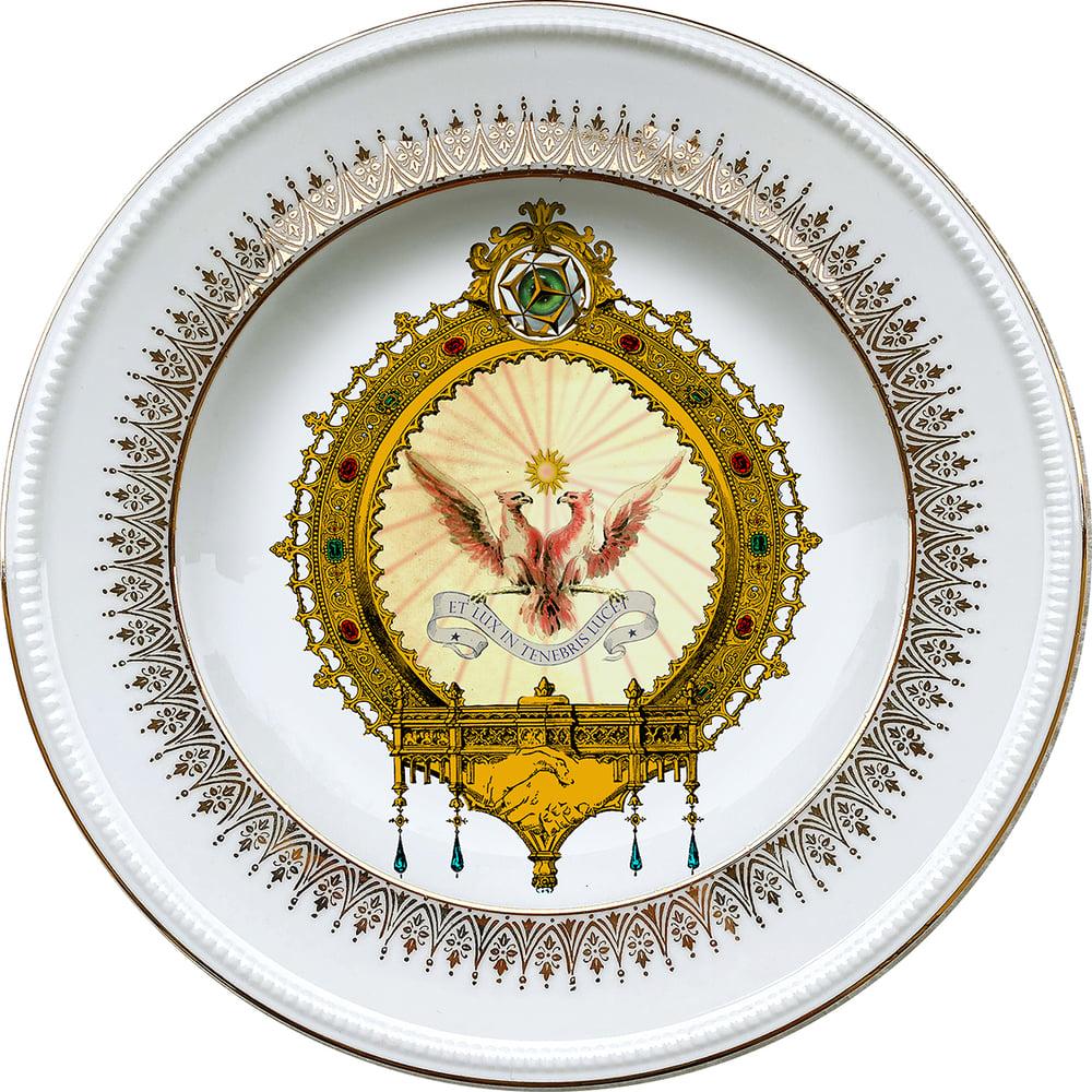 Image of  DAY - Vintage porcelain plate - #0721