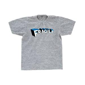 Image of Fragile Tee (Heather Grey)