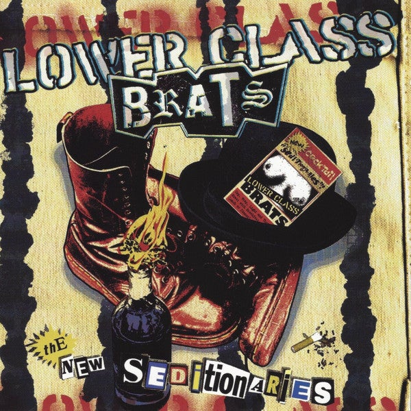 Image of *NEW* Lower Class Brats - The New Seditionaries LP