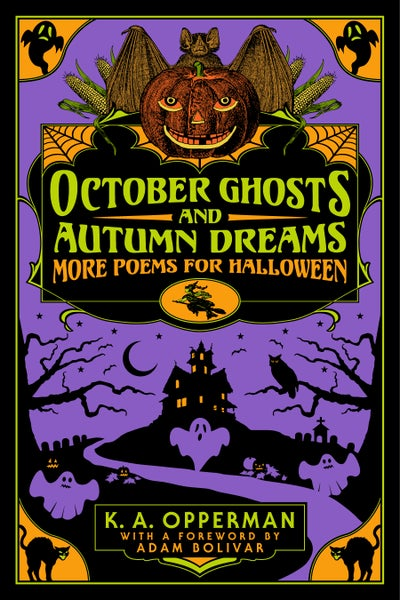 Image of October Ghosts and Autumn Dreams: More Poems for Halloween - PREORDER