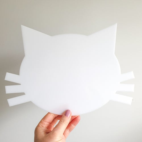 Image of Cat Cake Template