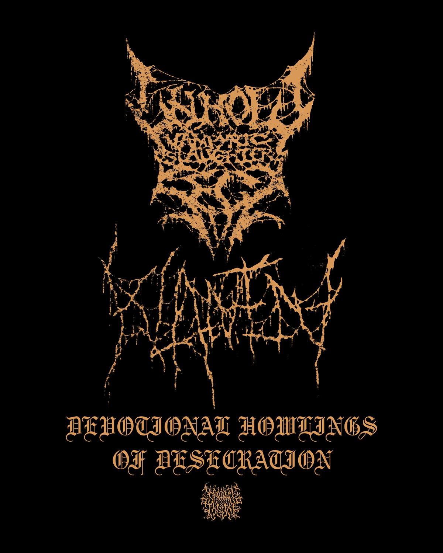 "UVSS/Klanen ""Devotional Howlings Of Desecration"" T-shirt"