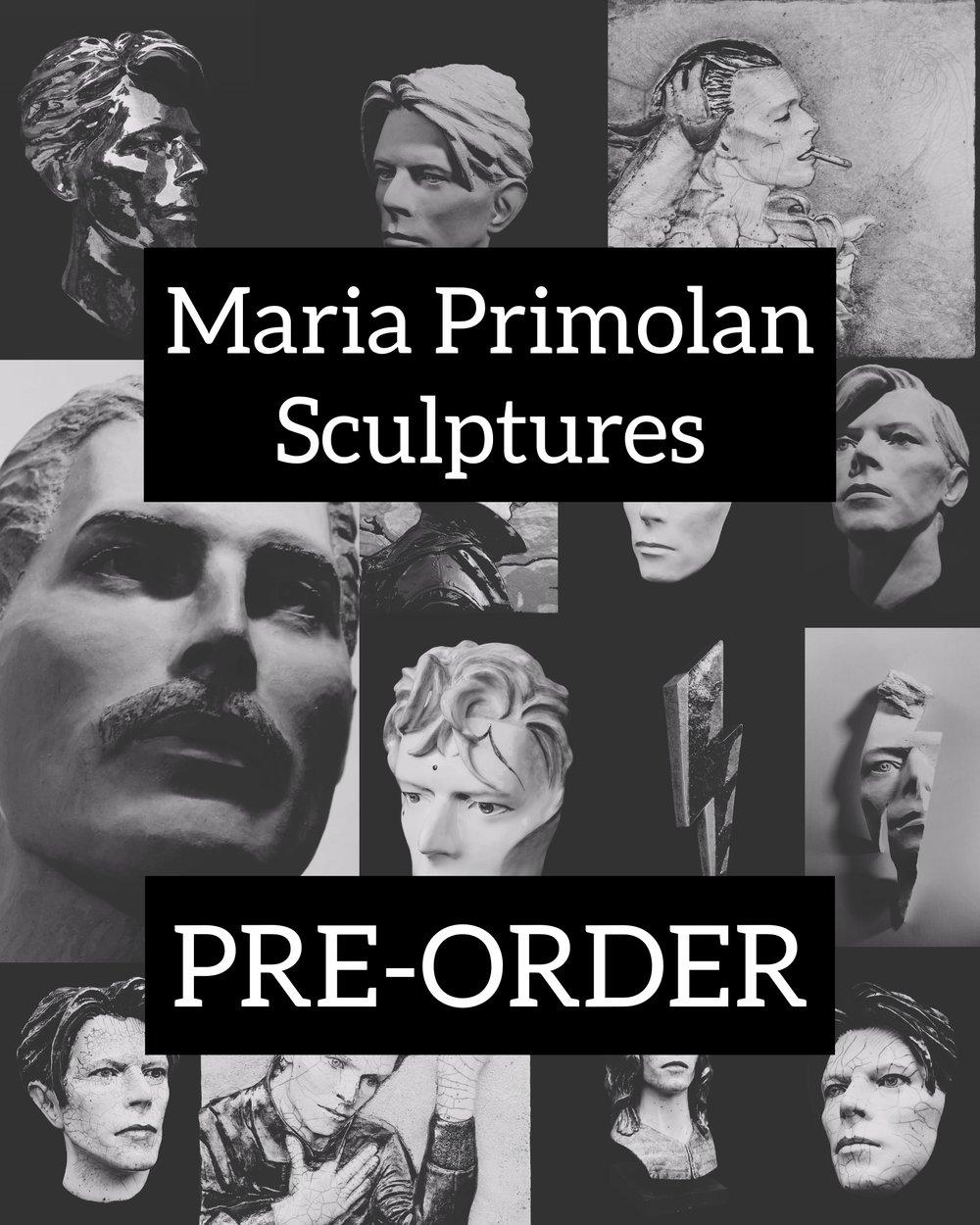 Pre-Order Sculptures by Maria Primolan