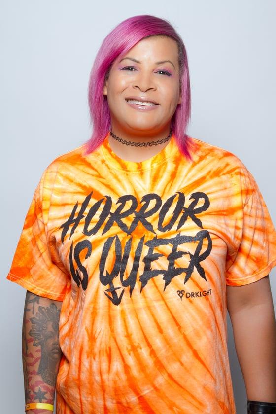 Image of Horror Is Queer Tie Dye