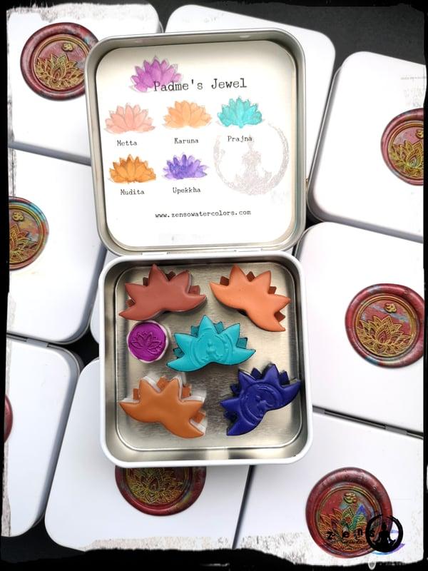 Image of Padme's Jewel - Lotus pan set