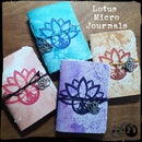 Image 3 of NEW Lotus Micro Journals - with paper cover