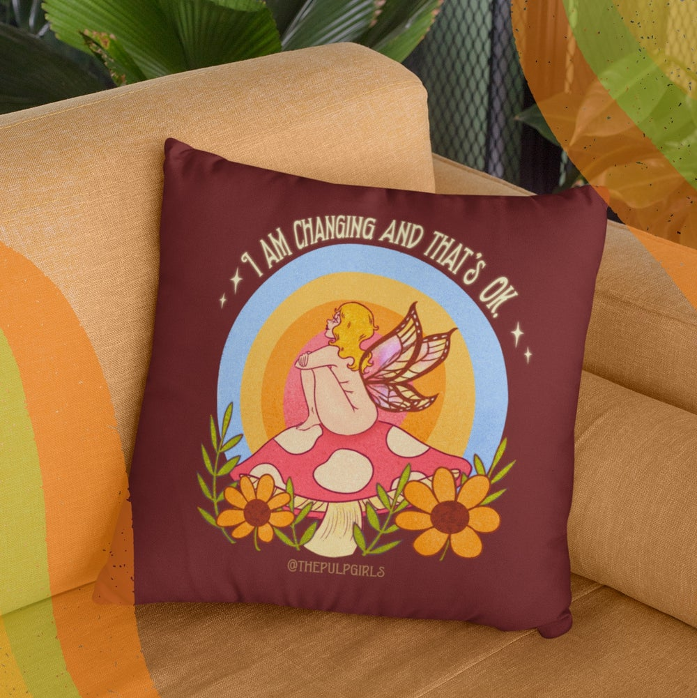 Image of I'M CHANGING THROW PILLOW