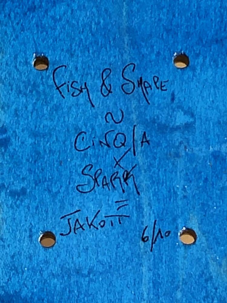 Image of Board Bleu 8.25 - JAKOTT