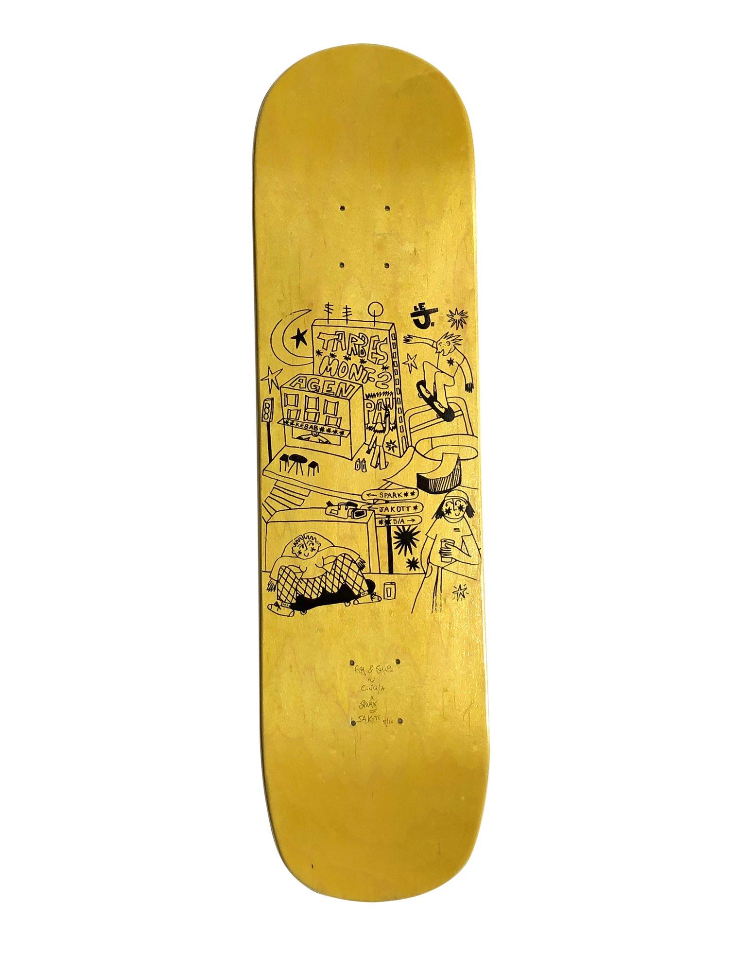 Image of Board Jaune 8.25 - JAKOTT