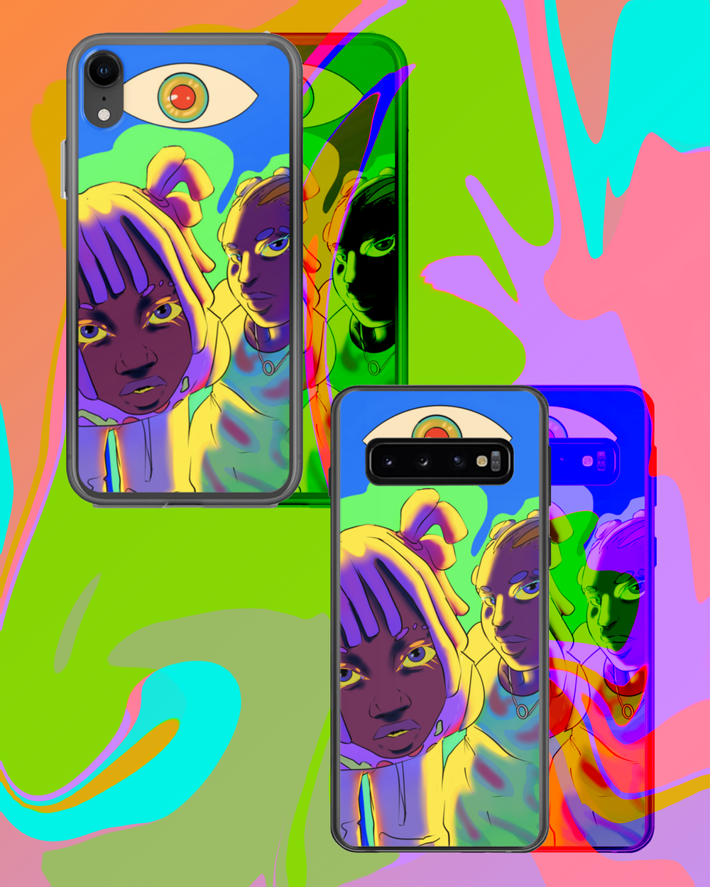 Image of TRANSPARENCY PHONE CASE