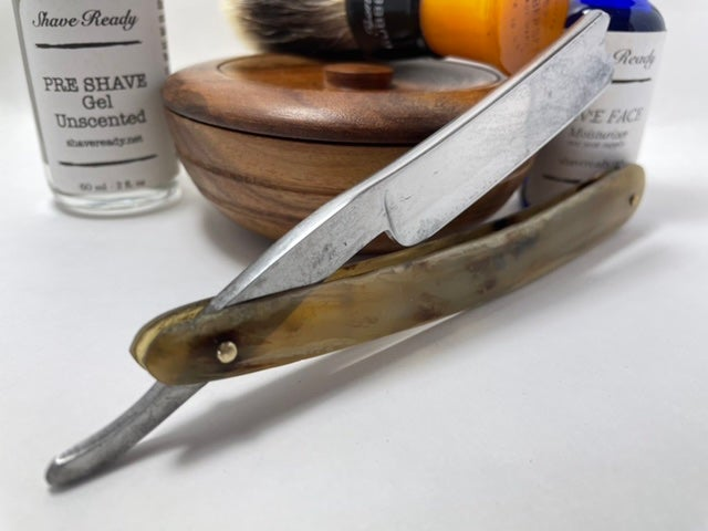 Image of Geo Manby Sheffield 6/8 Hollow Ground Shave Ready Straight Razor
