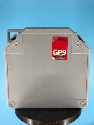 """Image of Quantegy GP9 2"""" x 2500' High Output Reel Tape On 10.5"""" Red Reel in TapeCare Case One Pass -Used"""