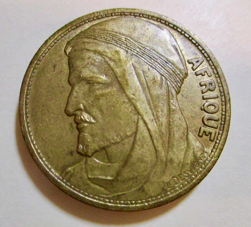 Afrique Medal from the 1931 Paris Exposition #1324C