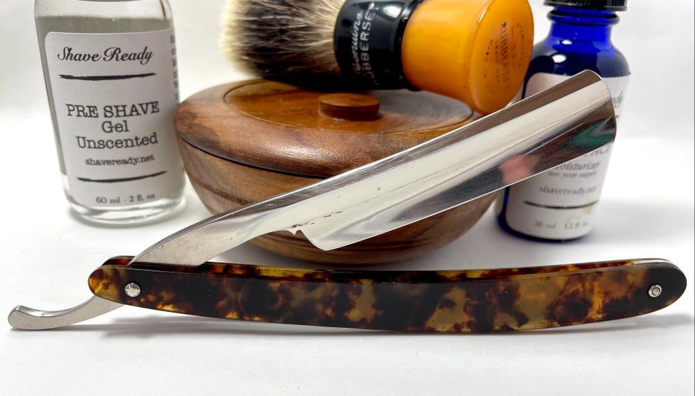 Image of Rogers Sheffield 6/8 Hollow Ground Sheffield Shave Ready Straight Razor