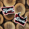 Red Devil Stickers