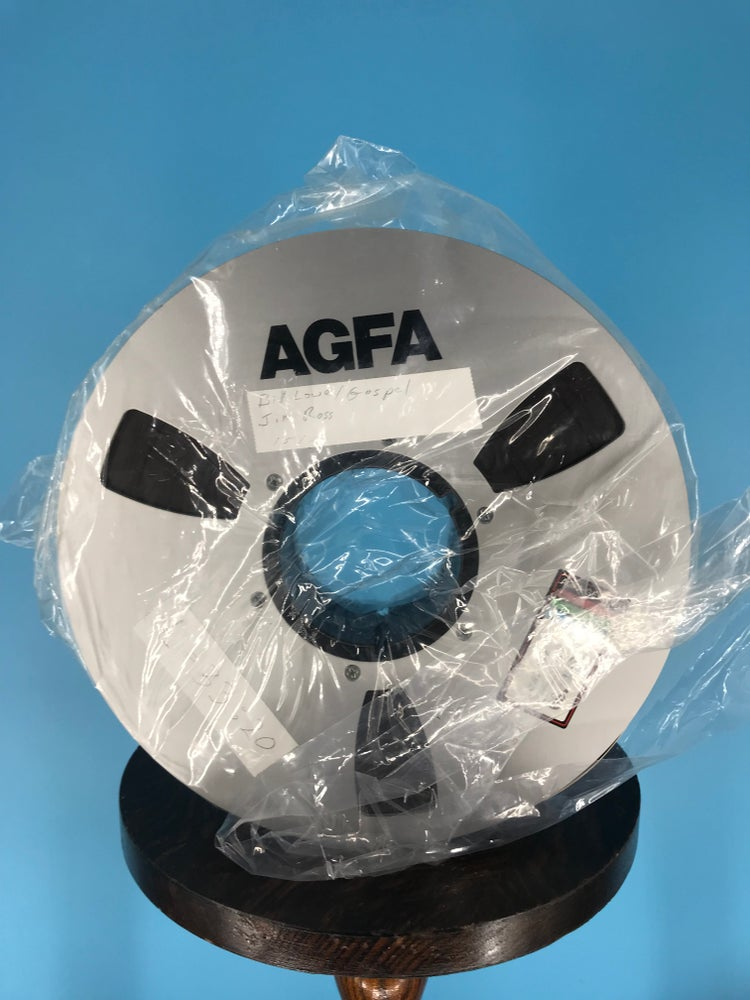 """Image of AGFA 469 2"""" x 2500' Reel Tape On 10.5"""" Reel in Box One Pass -Used"""