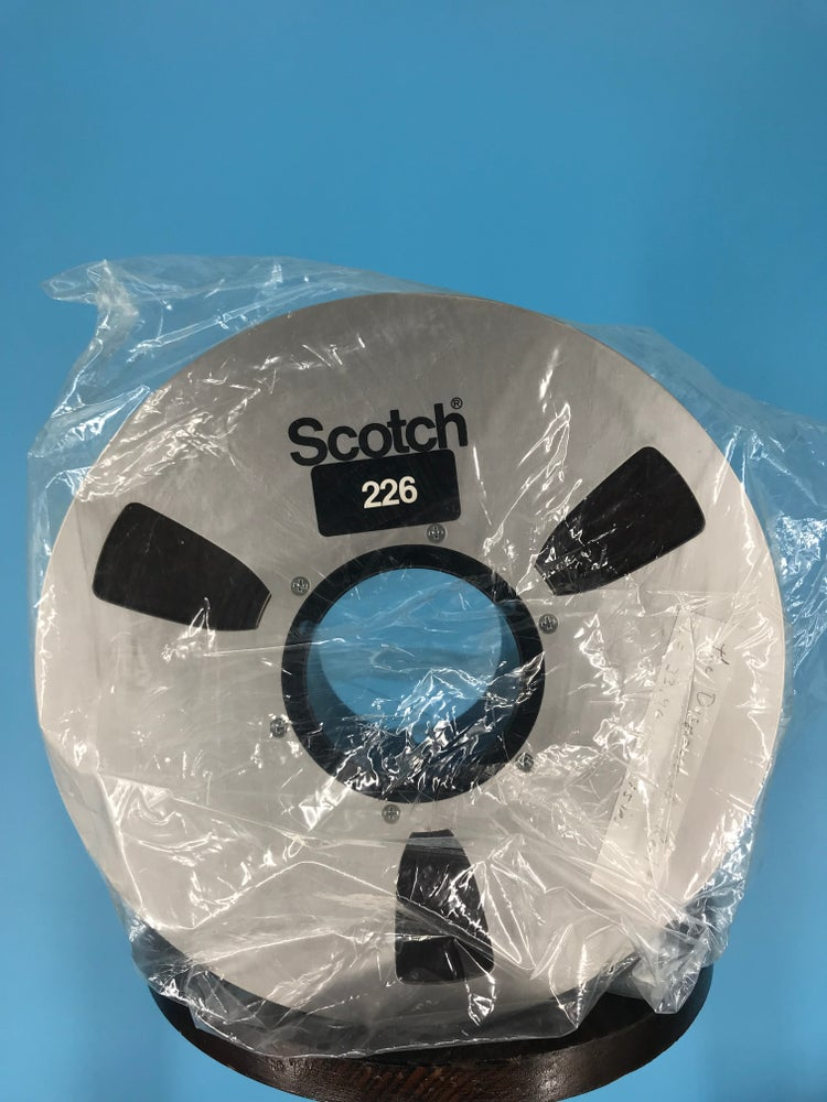 """Image of 3M 226 2"""" x 2500' Reel Tape On 10.5"""" Reel in Box One Pass -Used"""