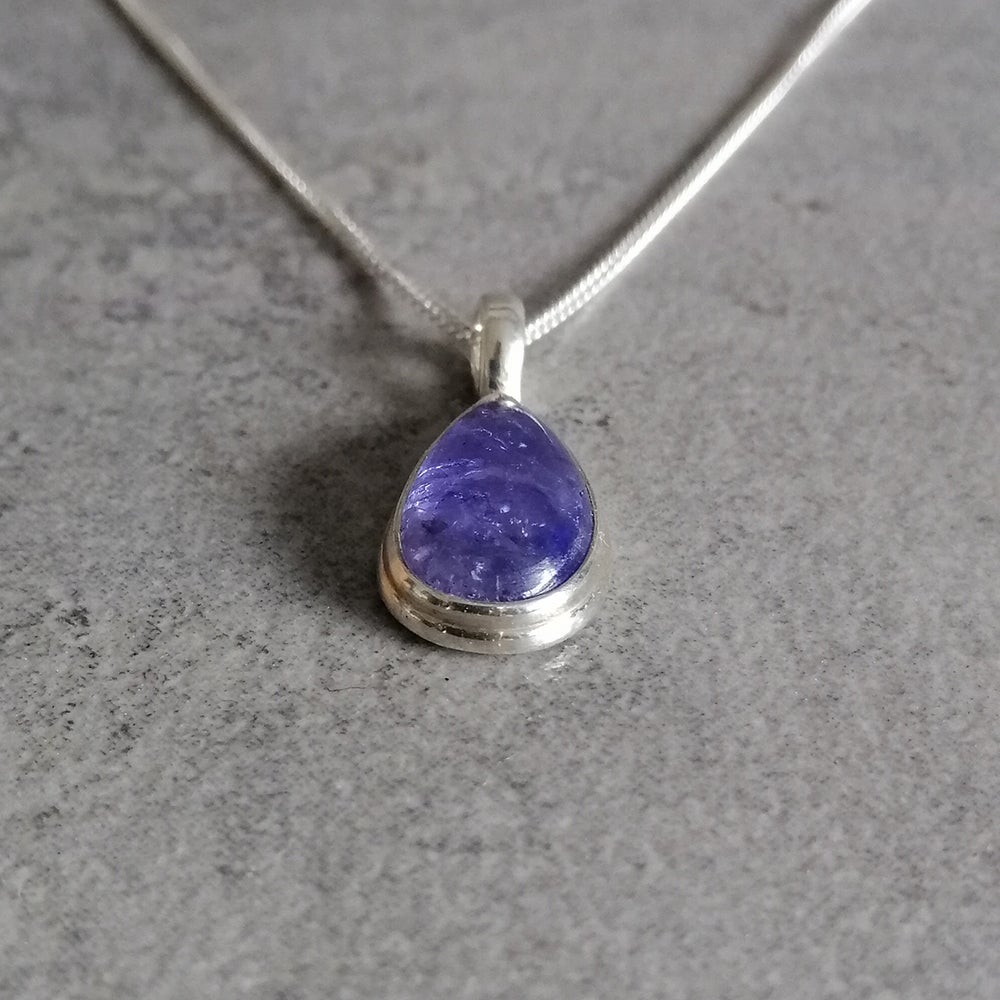Image of Tiny Tanzanite pendant