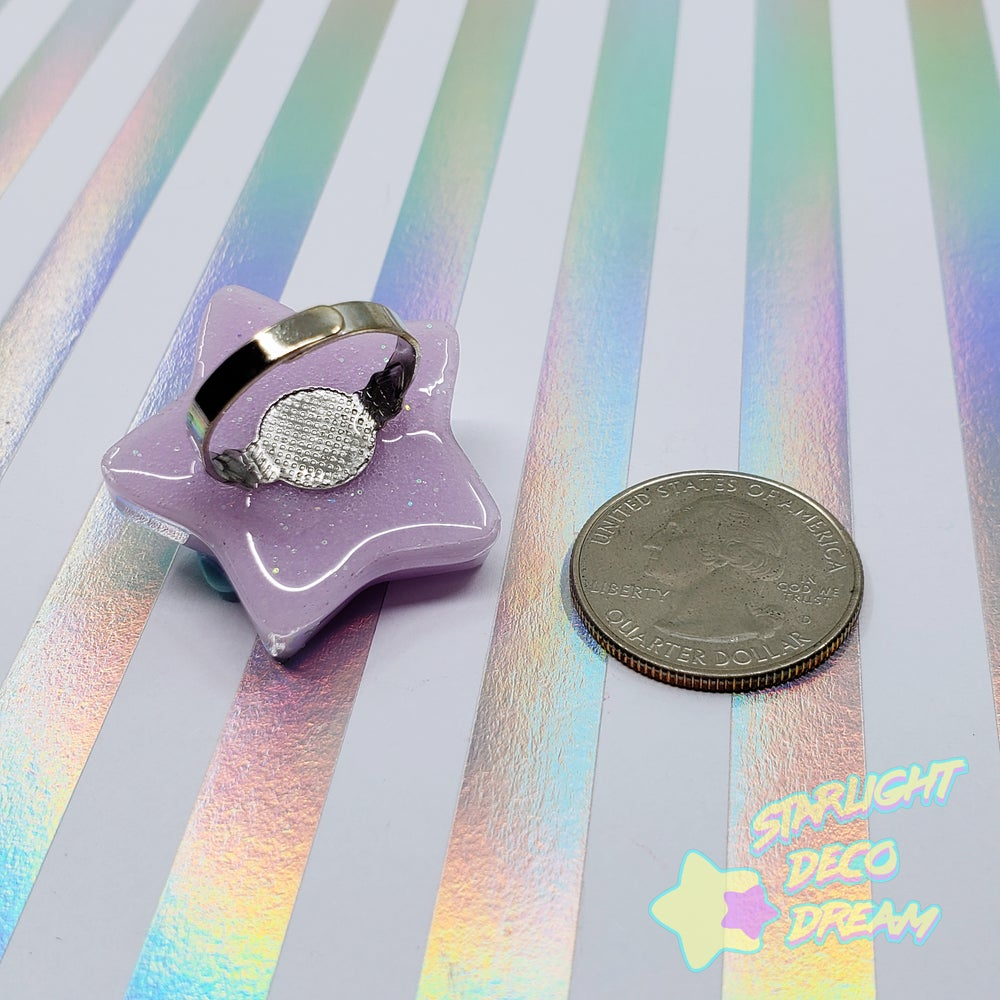 Image of Magical Star Bow Ring / Adjustable Size ~ Choose One