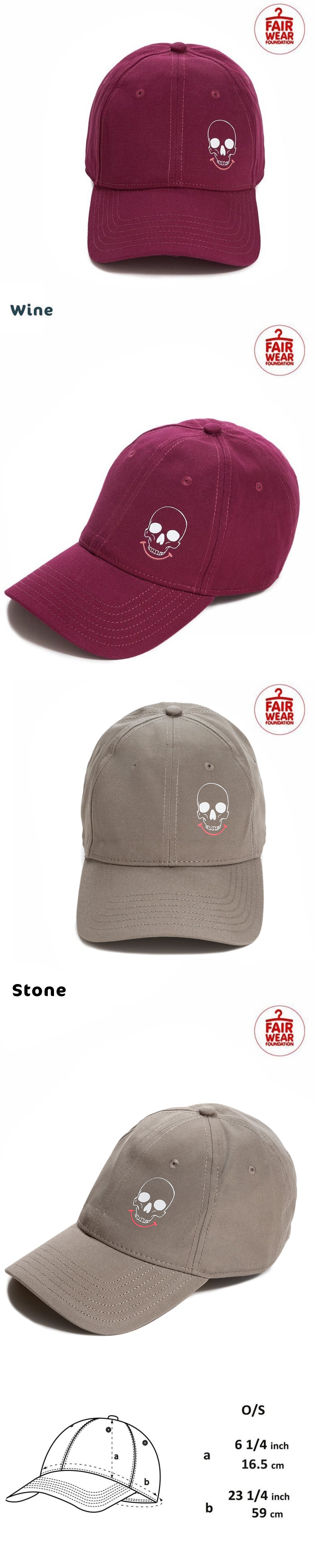Smiley Skull Logo Cap (Organic)