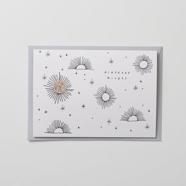Image of Birthday Wishes - Hand Finished Card
