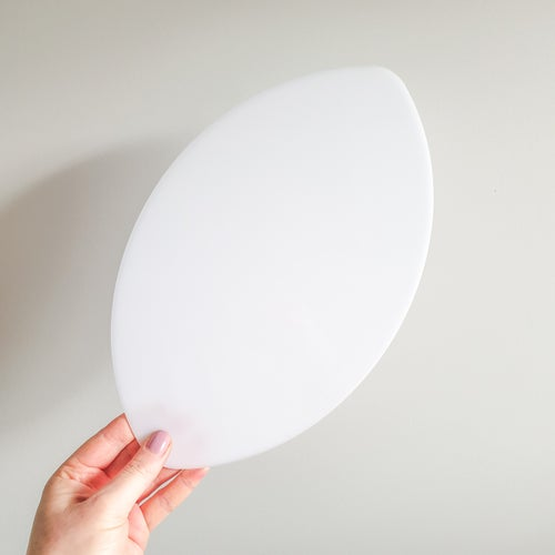 Image of Oval Ball Template