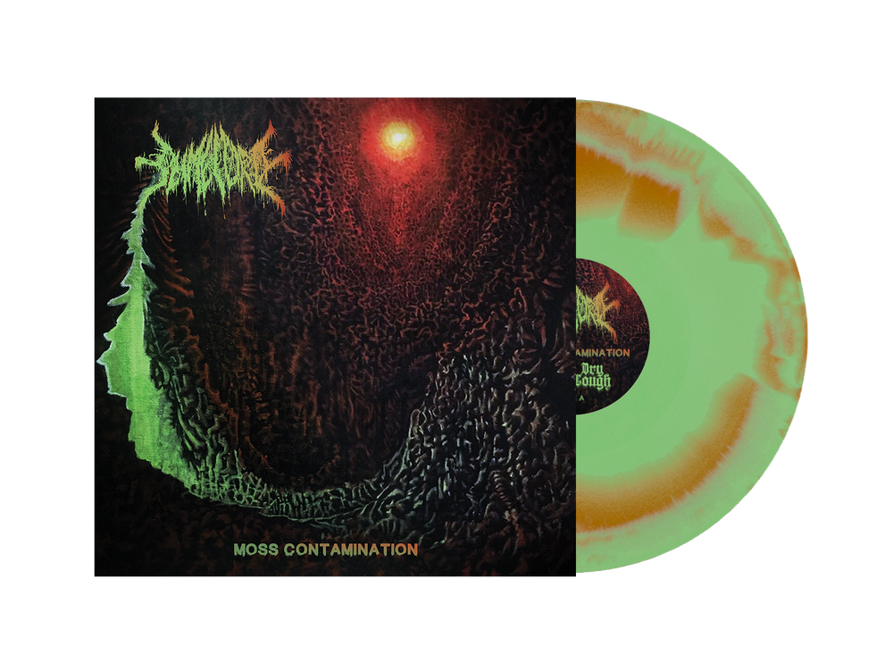 """Image of Slimelord - Moss Contamination EP 12"""" (DC47) PRE-ORDER"""