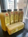 Brazil Nut Milk Mango Smoothie 16oz Bottles, 5 Pack.