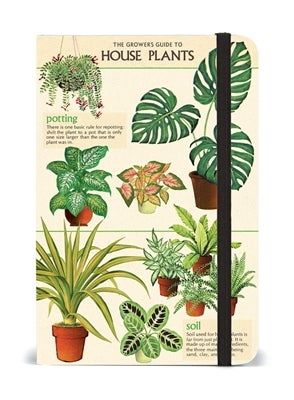 Image of House Plants Print Small Notebook - Cavallini Collection