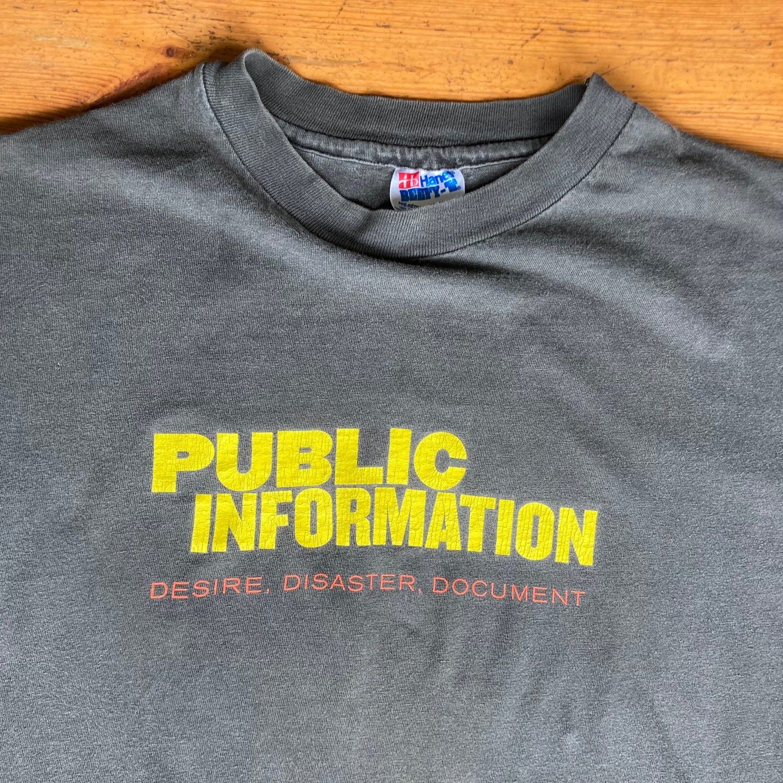 Image of SFMOMA Public Information: Desire, Disaster, Document Shirt