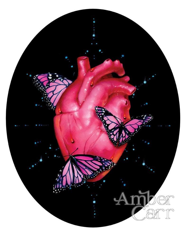 """Image of Flutter 11"""" x 14"""" Print"""