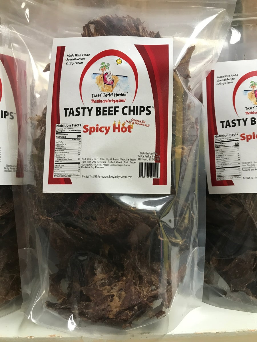 Image of  spicy Hot  7oz bag no sugar added, 2,000,000 scoville