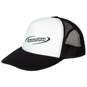 Image of BLACK TRUCKER HAT