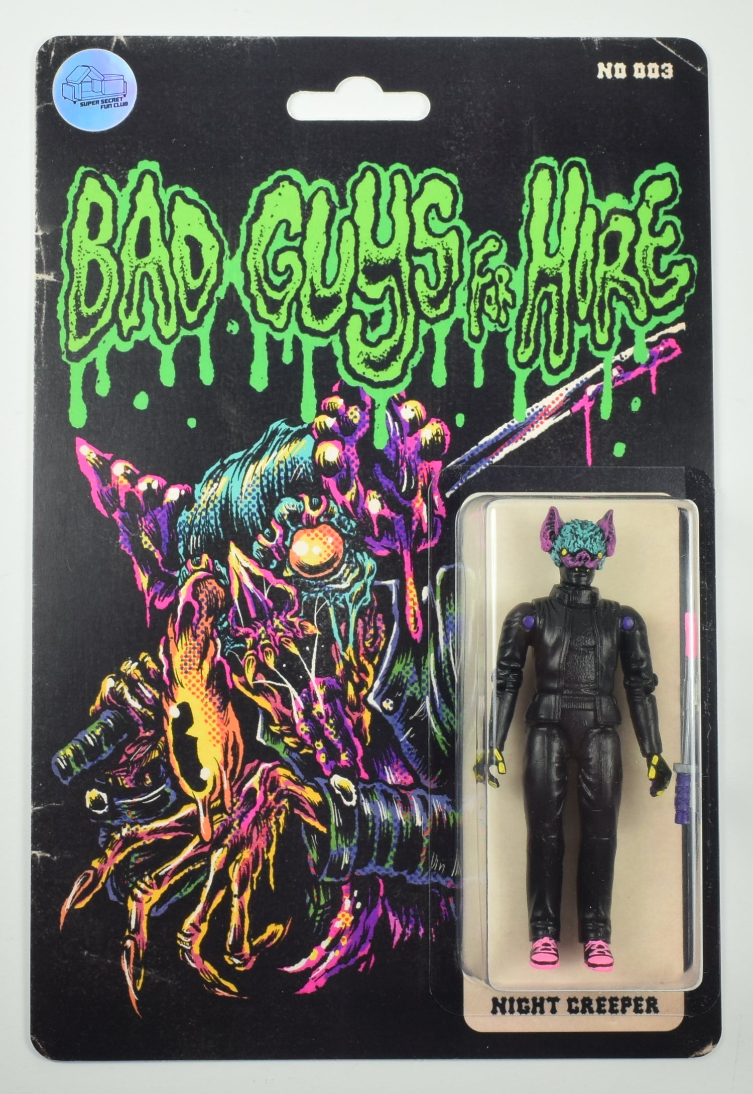 Image of BAD GUYS FOR HIRE - NIGHT CREEPER V3