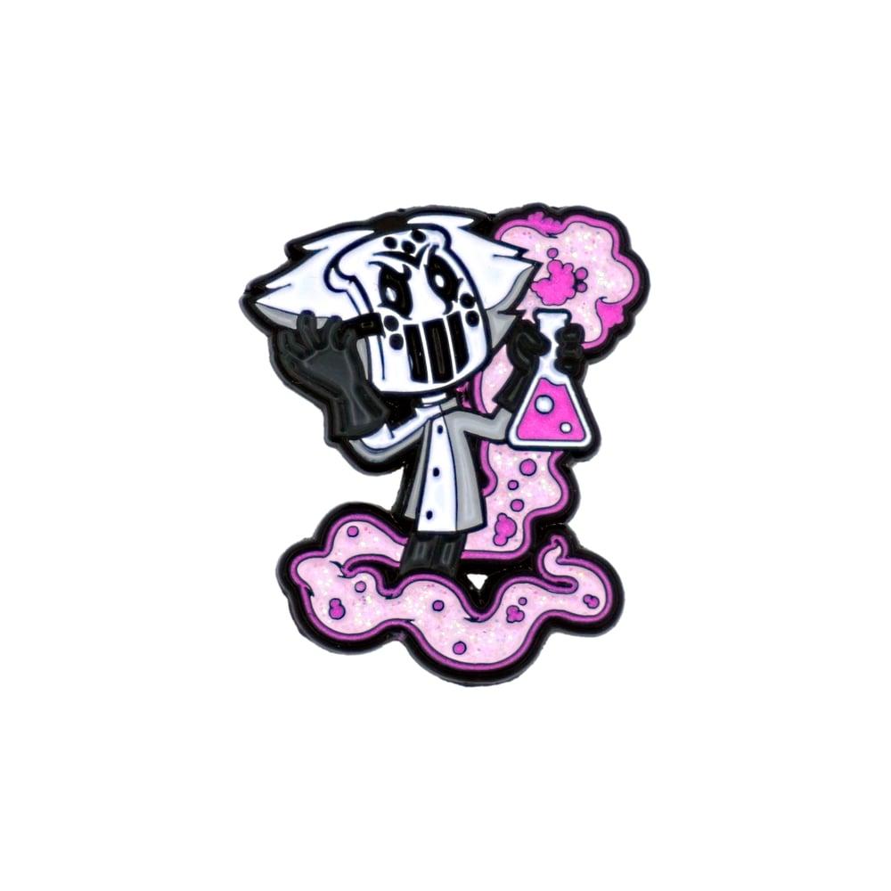 PBJ x The Capologists - Mad Scientist enamel pin