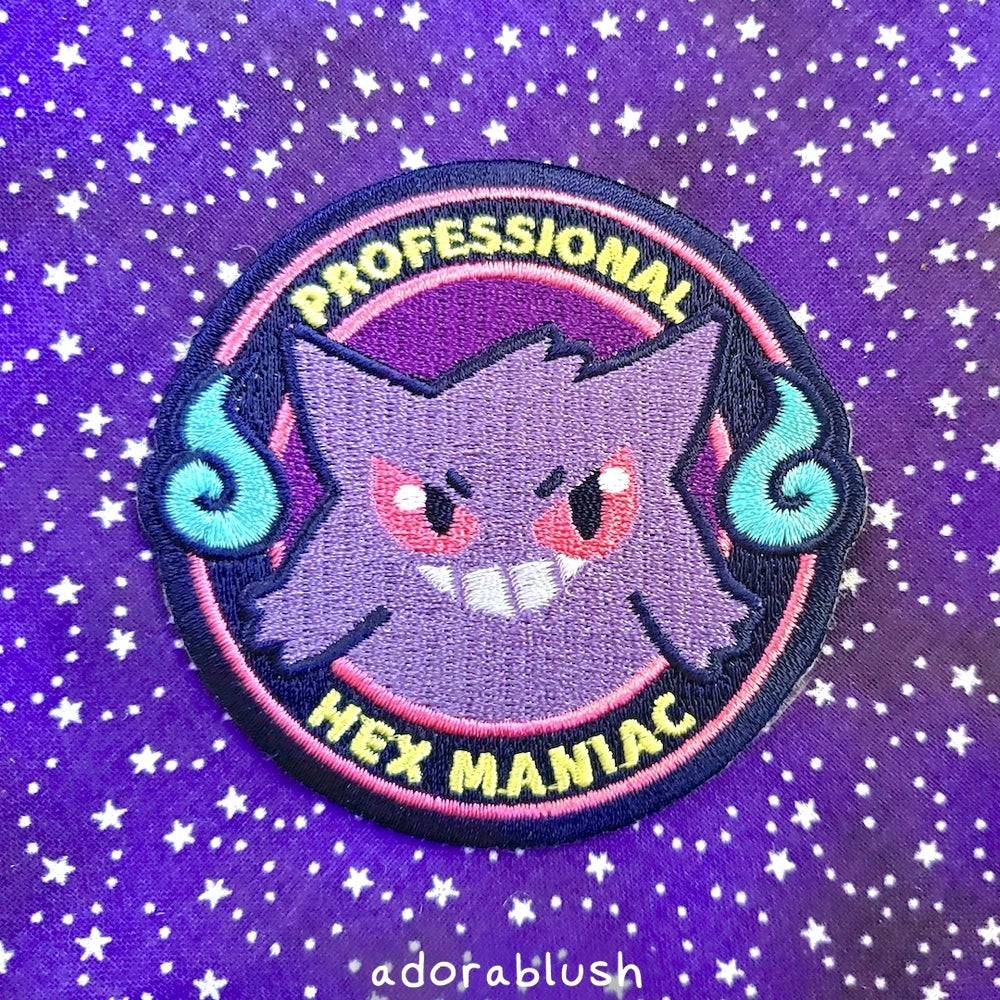 Gengar Embroidered Patch [Seasonal]