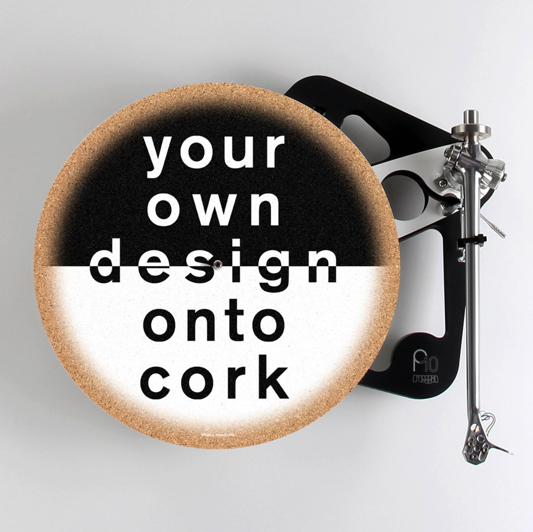 Image of Your Own Design Onto Cork
