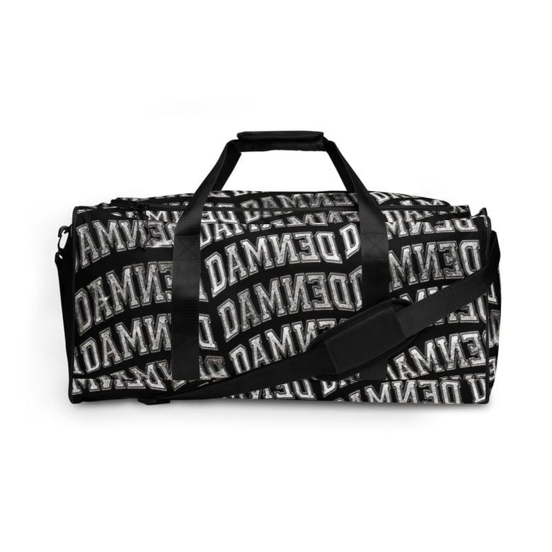 Image of Distressed Logo Duffel Bag