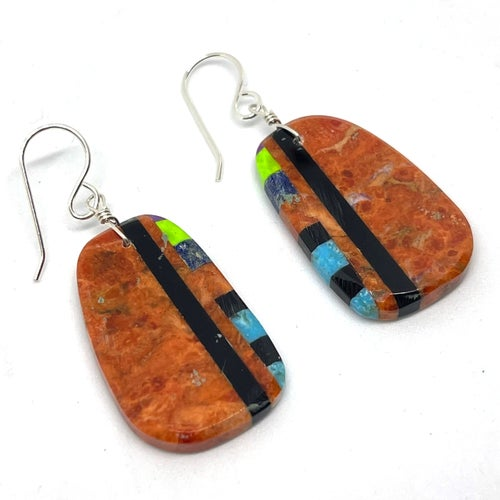 Image of Boulder Earrings (Accent)