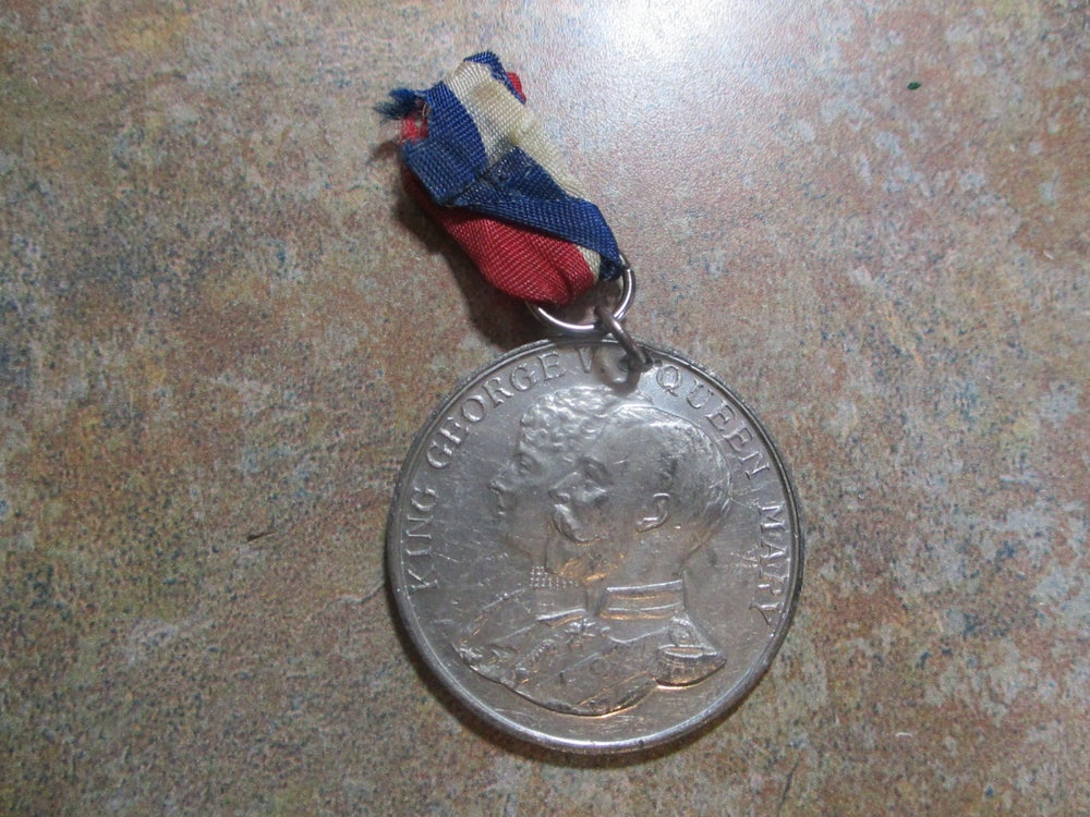 Medal, King George's 25th Anniversary of Ascending the  Throne #914