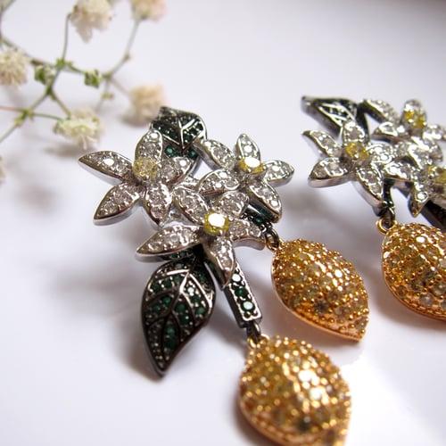 Image of Lemon Punch earrings