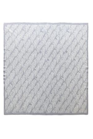 Image of Herringbone Fern Blanket - Aotearoa Collection