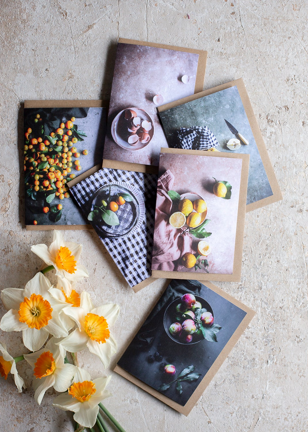 Image of Harvest Table — greeting card set (6)