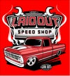 Laidout Speed Shop F100 Red