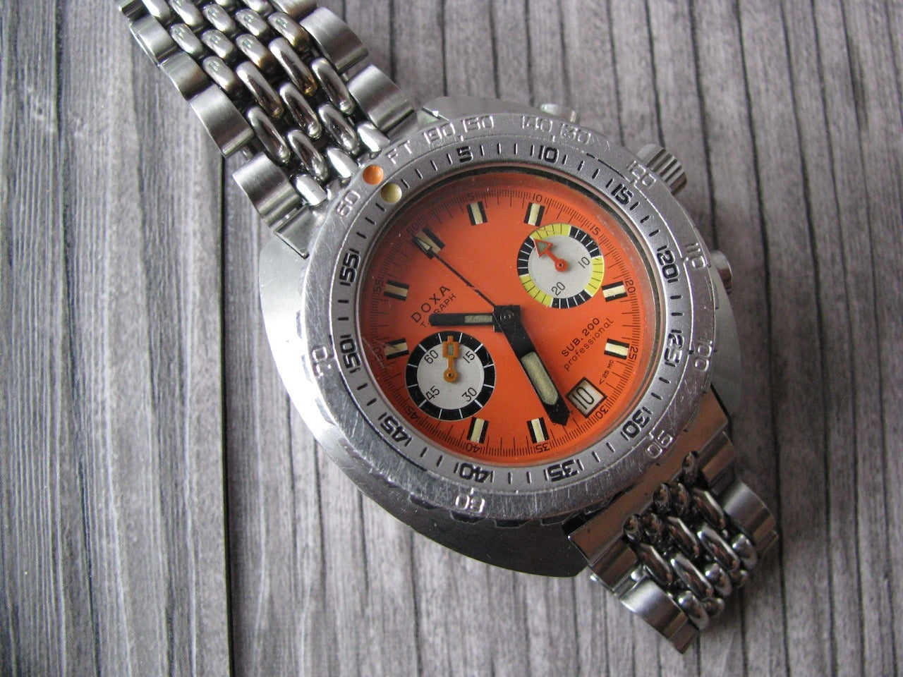 Image of VIntage Doxa T-graph Pro