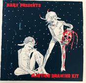 "Image of MARX PRESENTS ""Electric Drawing Kit"" 3xLP w/ NO BUENO, SEAWHORES & ARCTIC UNIVERSE PRE-ORDER"