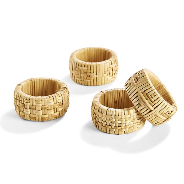 Image of Rattan Napkin Rings