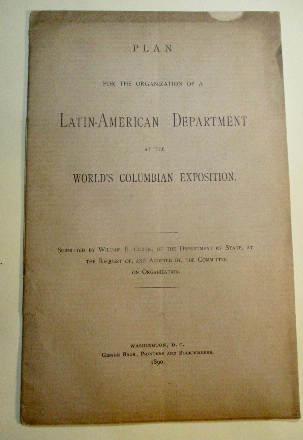 1893 WCE-Information for Latin Countries' Participation in WCE-2 Documents
