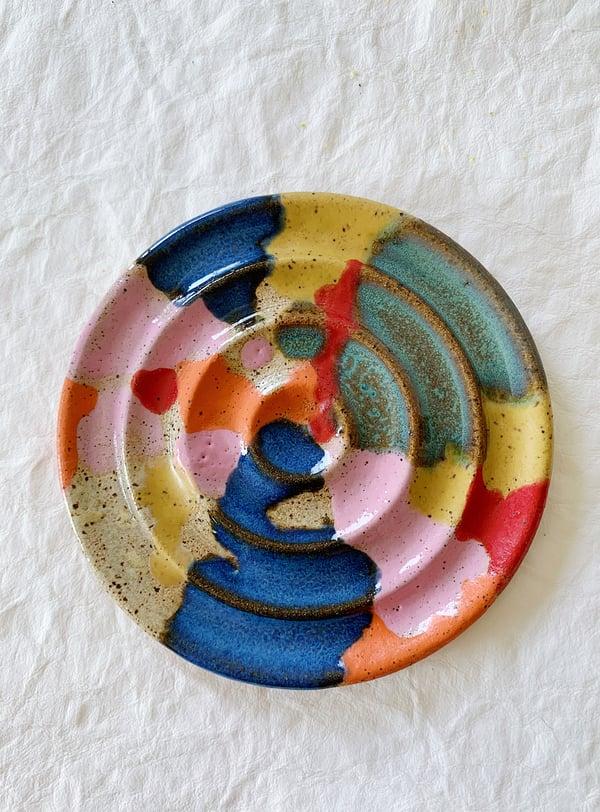 Image of Calico Soap dish